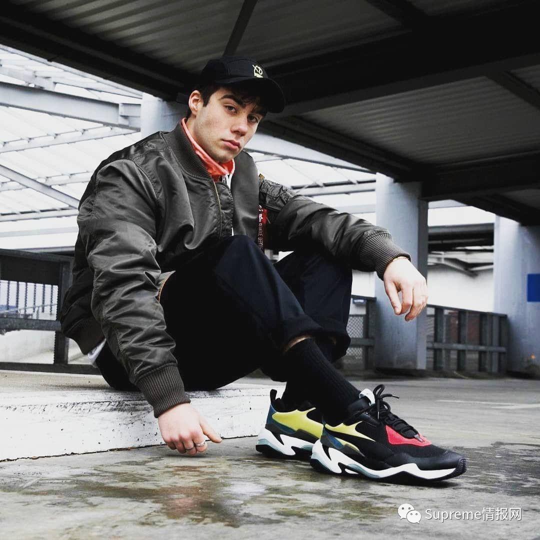 """【发售预警】Puma彪马""""雷霆光谱""""老爹鞋补货发售,日期确认!"""