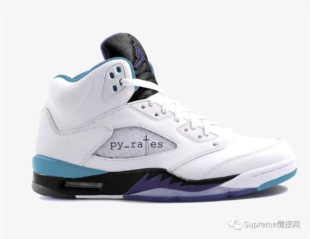 """【鞋狗情报】Air Jordan 5 全新""""紫葡萄""""配色泄露,发售确认!"""