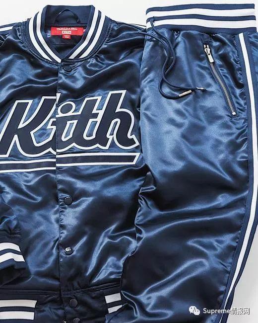 【发售预警】Kith x Mitchell Ness联名公布,即将正式发售!