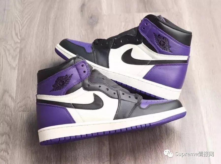 【鞋狗情报】AJ1 黑紫脚趾配色