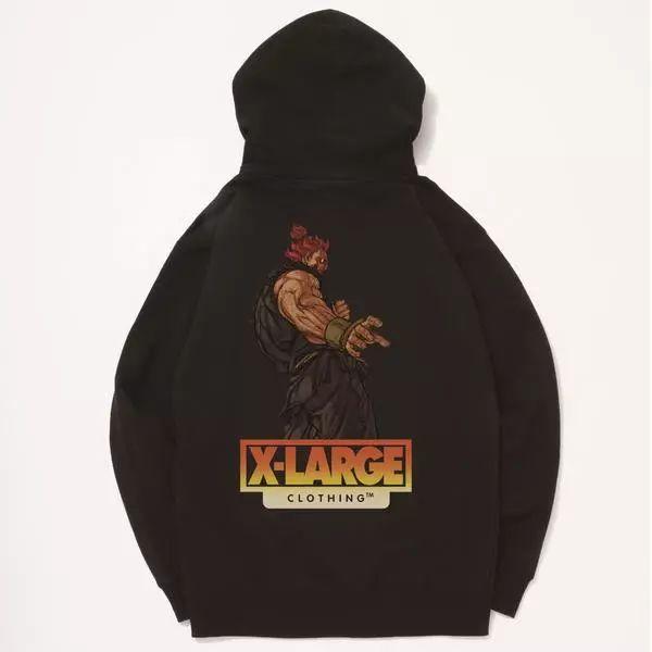【发售预警】X-Large火影忍者/街霸联名系列发售,抢购信息!