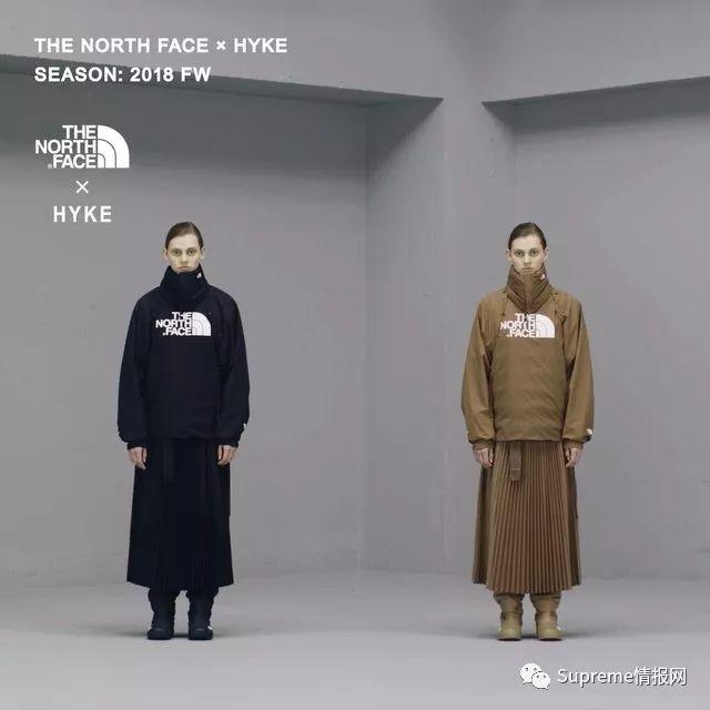 【发售预警】The North Face x 日本Hyke联名公布,发售信息!