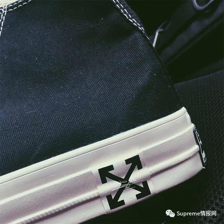 【鞋狗情报】Off-White x 匡威联名全新版本持续泄露,高清图!