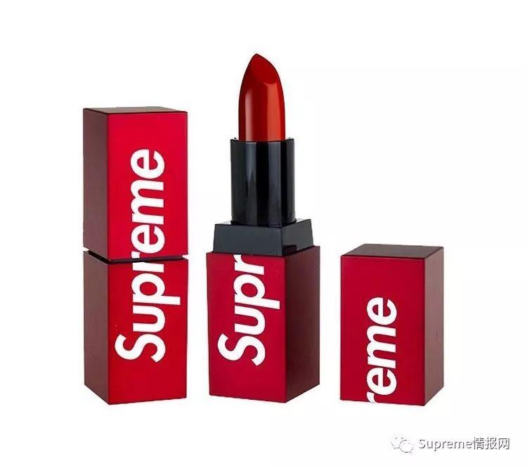 【街头情报】Supreme口红实物曝光,各位女粉丝把持的住吗?