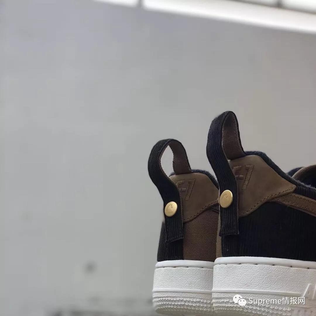 【鞋狗】耐克AF1 x Carhartt王牌工装联名实物上脚,即将发售!