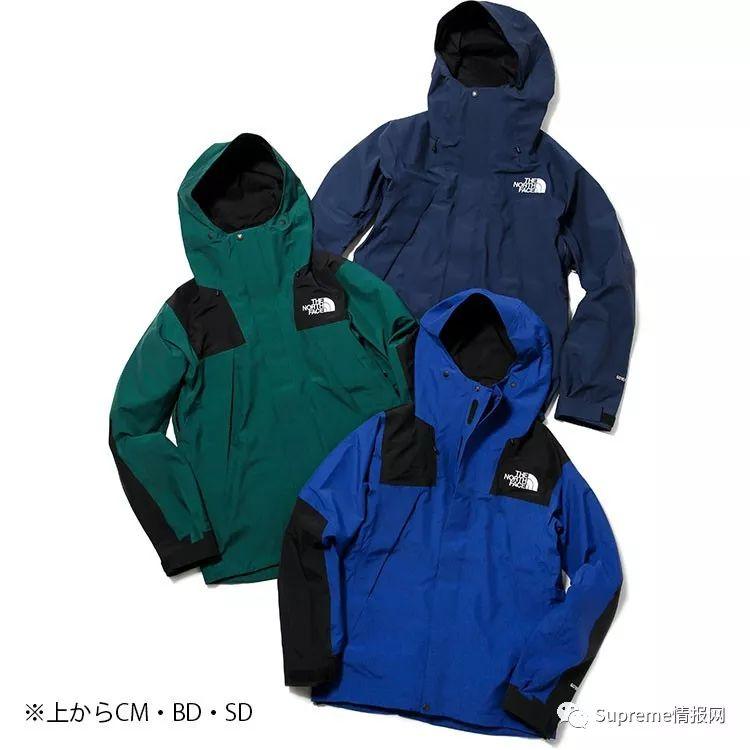 【预警】The North Face日本支线新款冲锋衣公布,现已发售!