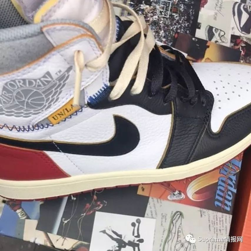 【重磅】Air Jordan 1 x Union联名新配色实物泄露,即将发售!