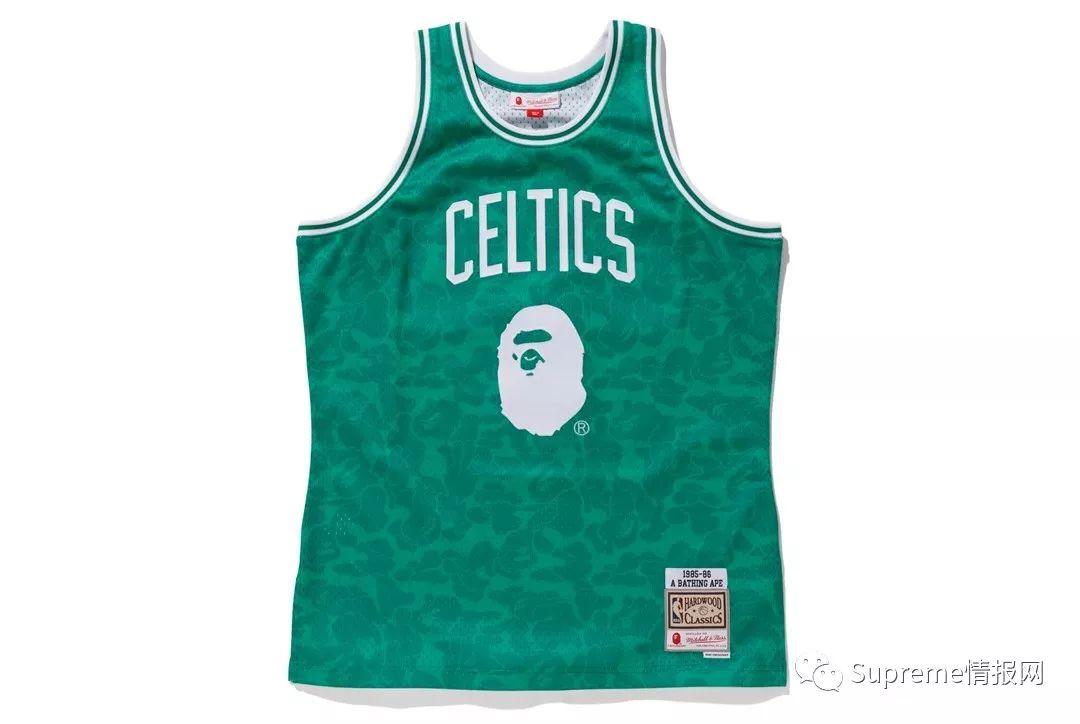 【预警】Bape x NBA复古球衣联名官方公布,明日将正式发售!