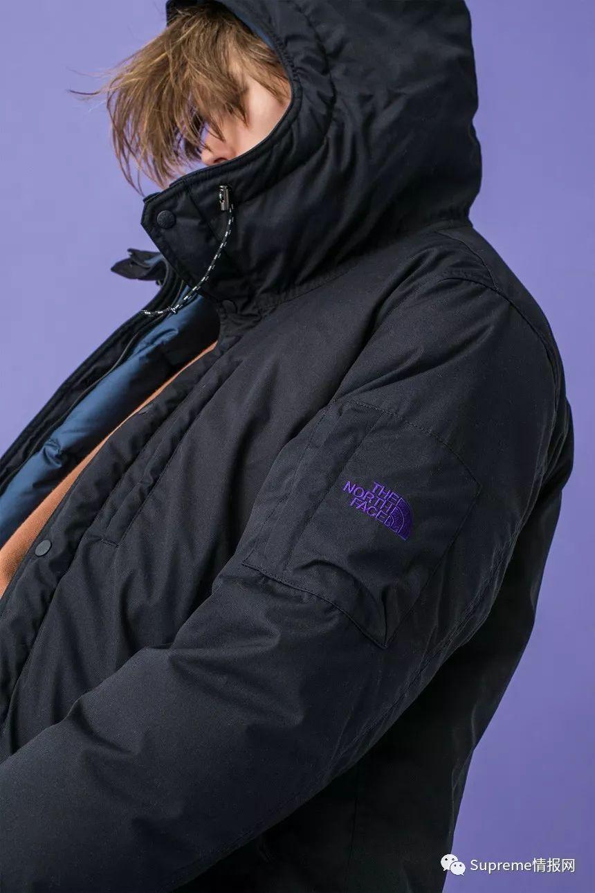 【预警】The North Face 紫标联名羽绒服公布,官网抢购信息!