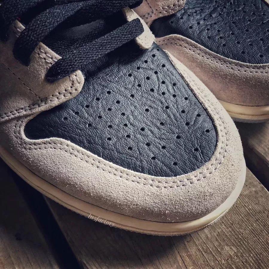 """Air Jordan 1 新配色""""Neutral Grey""""实物提前曝光,下月正式发售!"""