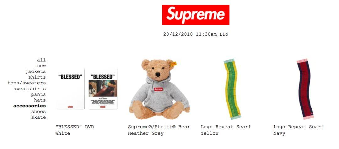 最快5秒售罄,Supreme第18周发售有多抢手!?