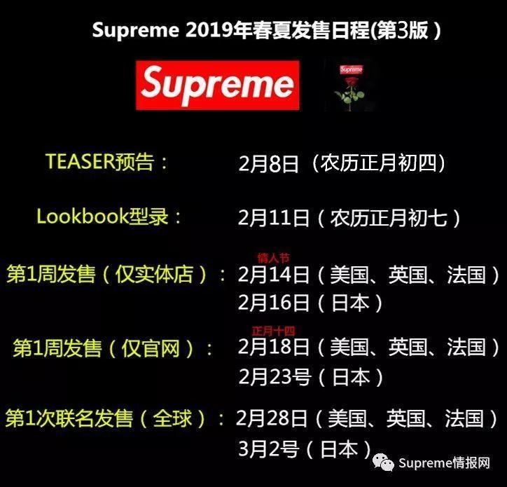 Supreme 2019年春夏新款外套实物泄露,下周将正式开季发售!