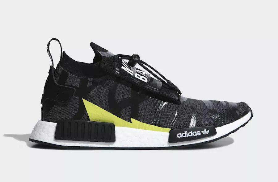 预警:Bape x 阿迪达斯 x NBHD 三方联名鞋款曝光,下周发售!