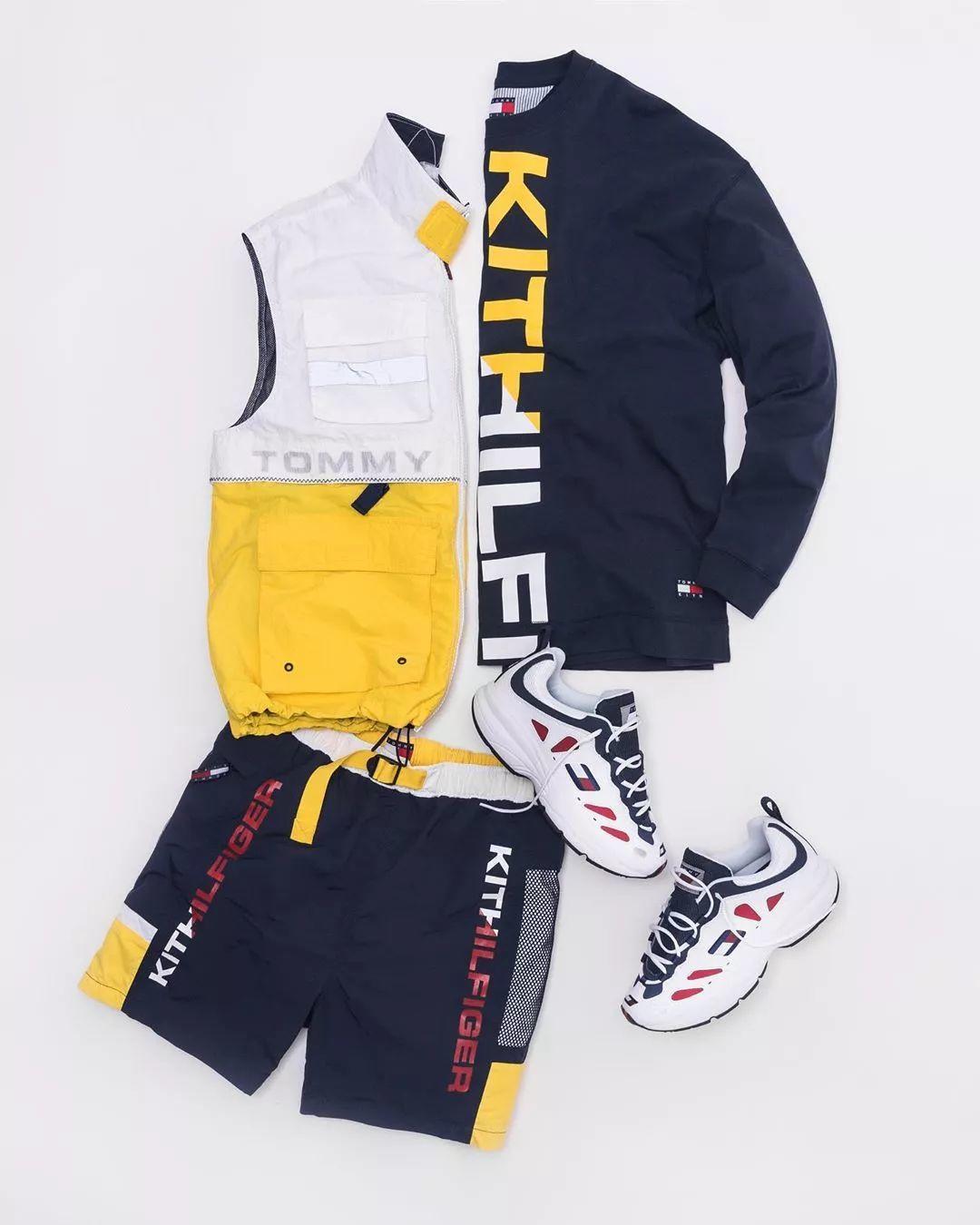 预警:Kith x Tommy Hilfiger联名系列曝光,确认下周正式发售!
