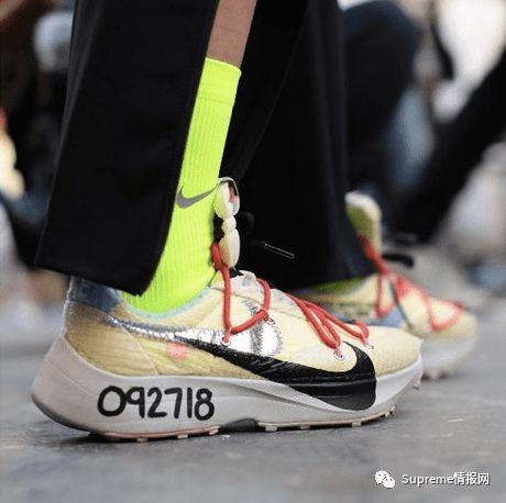 Off-White x 耐克联名Vapor S鞋款曝光,超20双新款即将发售!