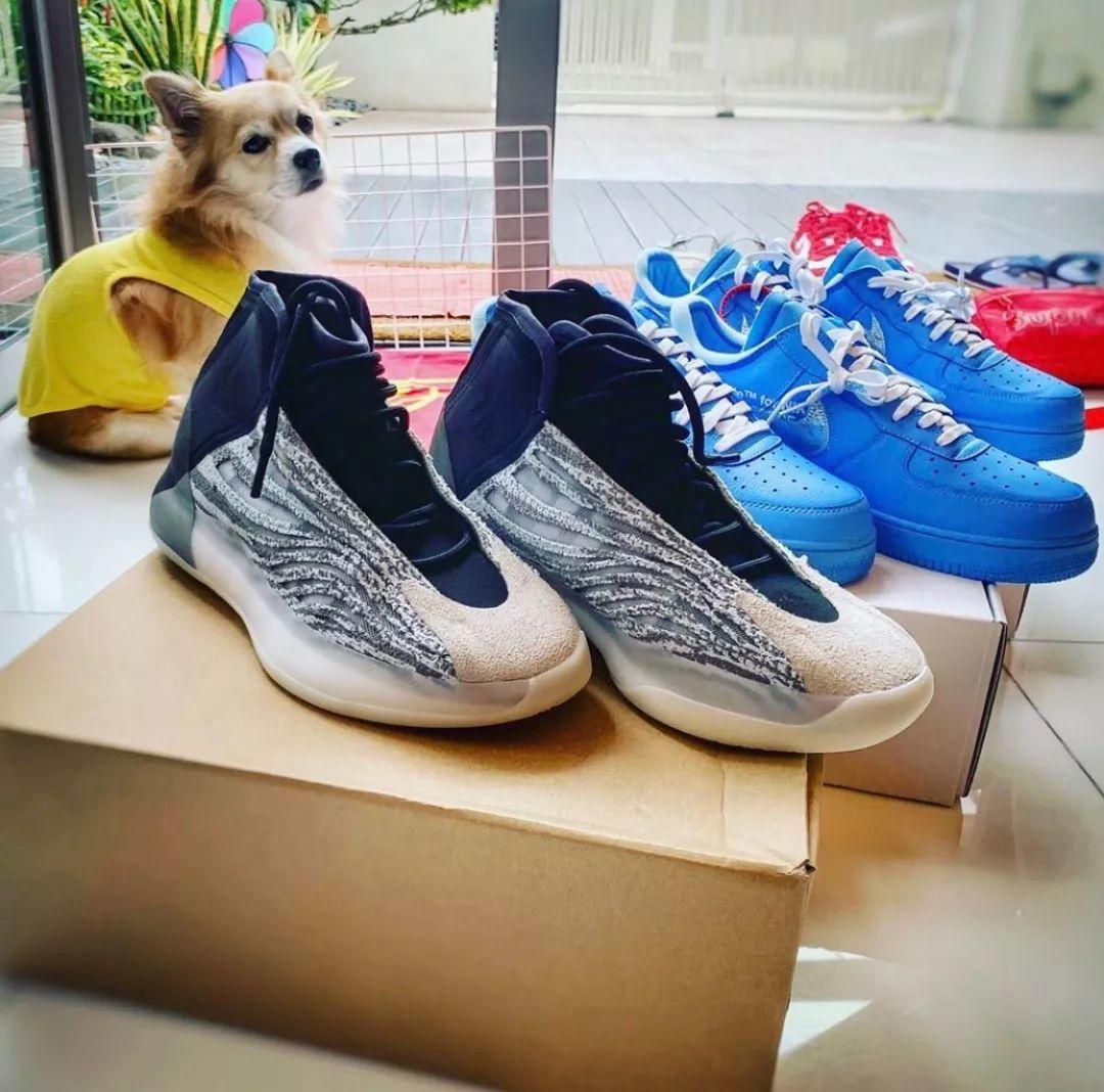 预警:A$AP Rocky上脚Yeezy篮球鞋,到底什么时候发售呢?!