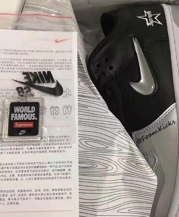 预警:Supreme x 耐克SB联名实物提前泄露,疑下月全球发售!