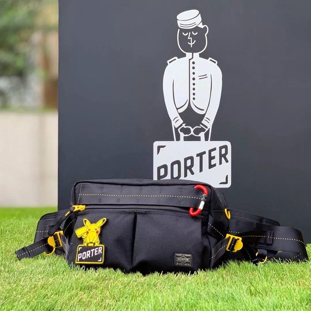预警:《皮卡丘》 x PORTER新联名系列公布,现已开启发售!