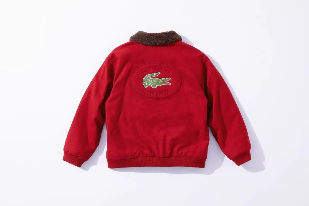 神仙打架?Supreme x LACOSTE鳄鱼联名,中国天猫限量发售!