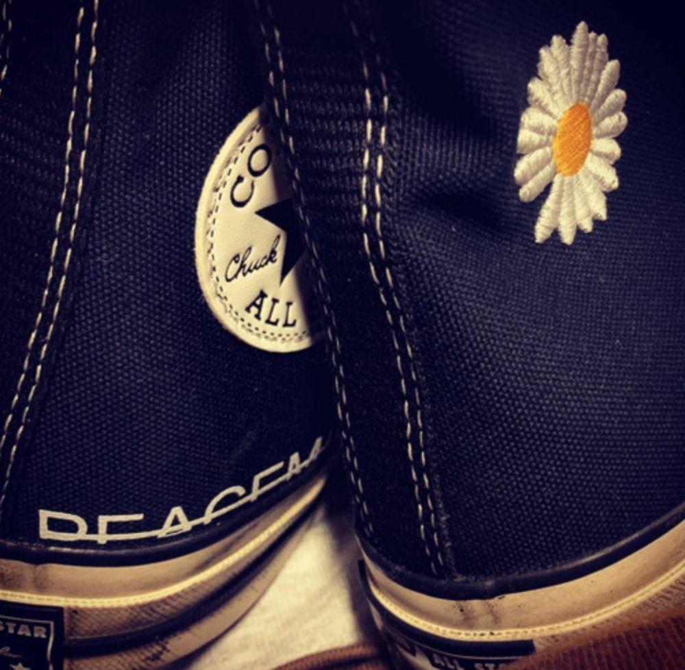 权志龙GD品牌 x 匡威Converse联名鞋款泄露,即将限量发售!