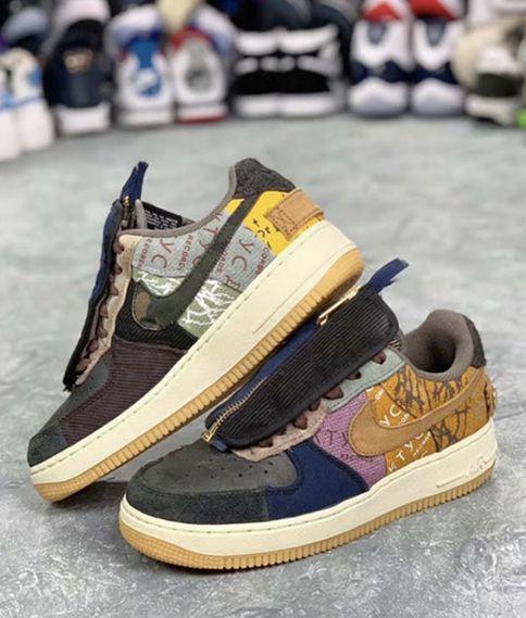 Travis Scott抛给粉丝的AF1联名鞋,开价70万被拒,现在官网要发售啦!