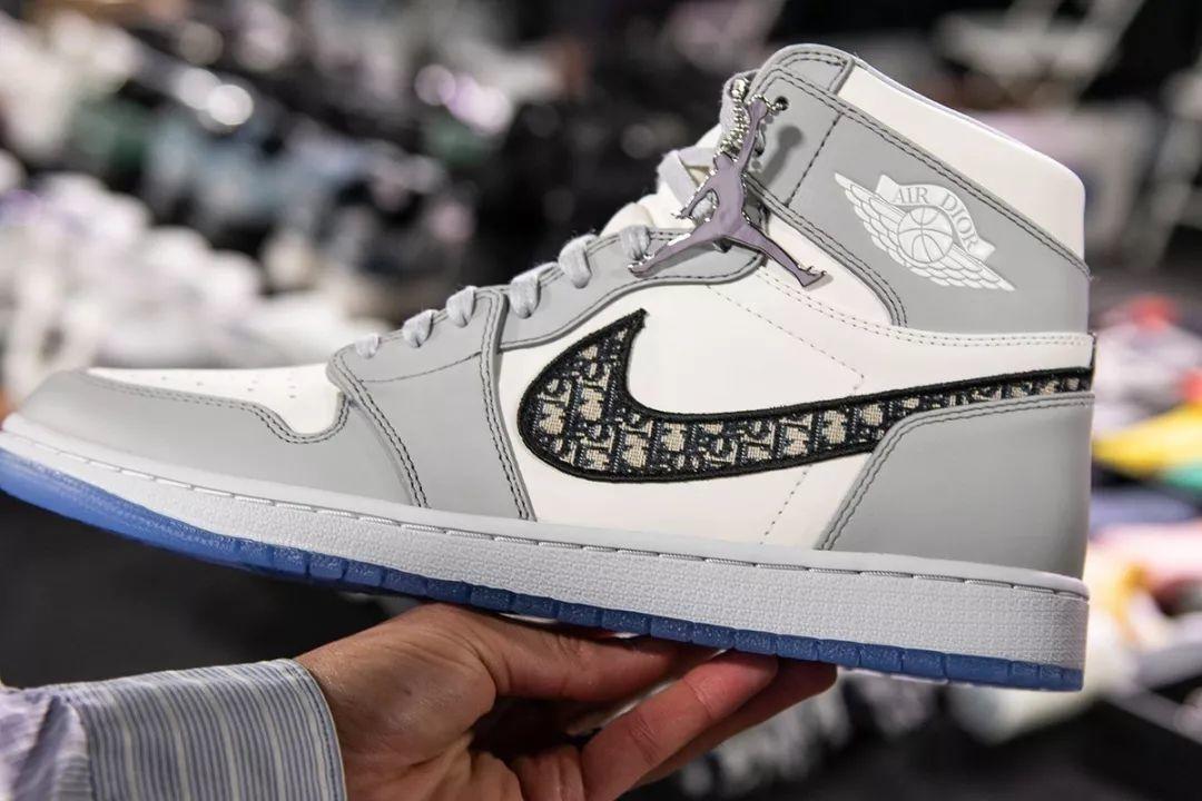 售价2.5万秒售罄,Air Jordan 1 x 迪奥Dior确认限量发售!只有1000双?