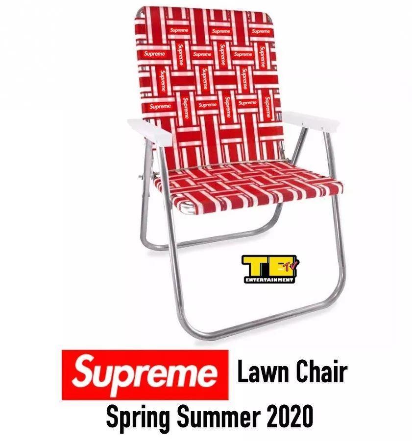 预警:Supreme草坪椅、锁、工具柜等配件曝光,疑下季发售!