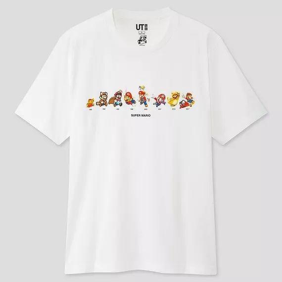 预警:优衣库 x 《超级玛丽》联名系列官方曝光,发售日确认!