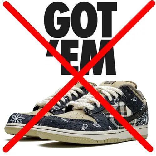 凉:Nike官方确认取消Snkrs上架!TS x 耐克SB中国发售无望~