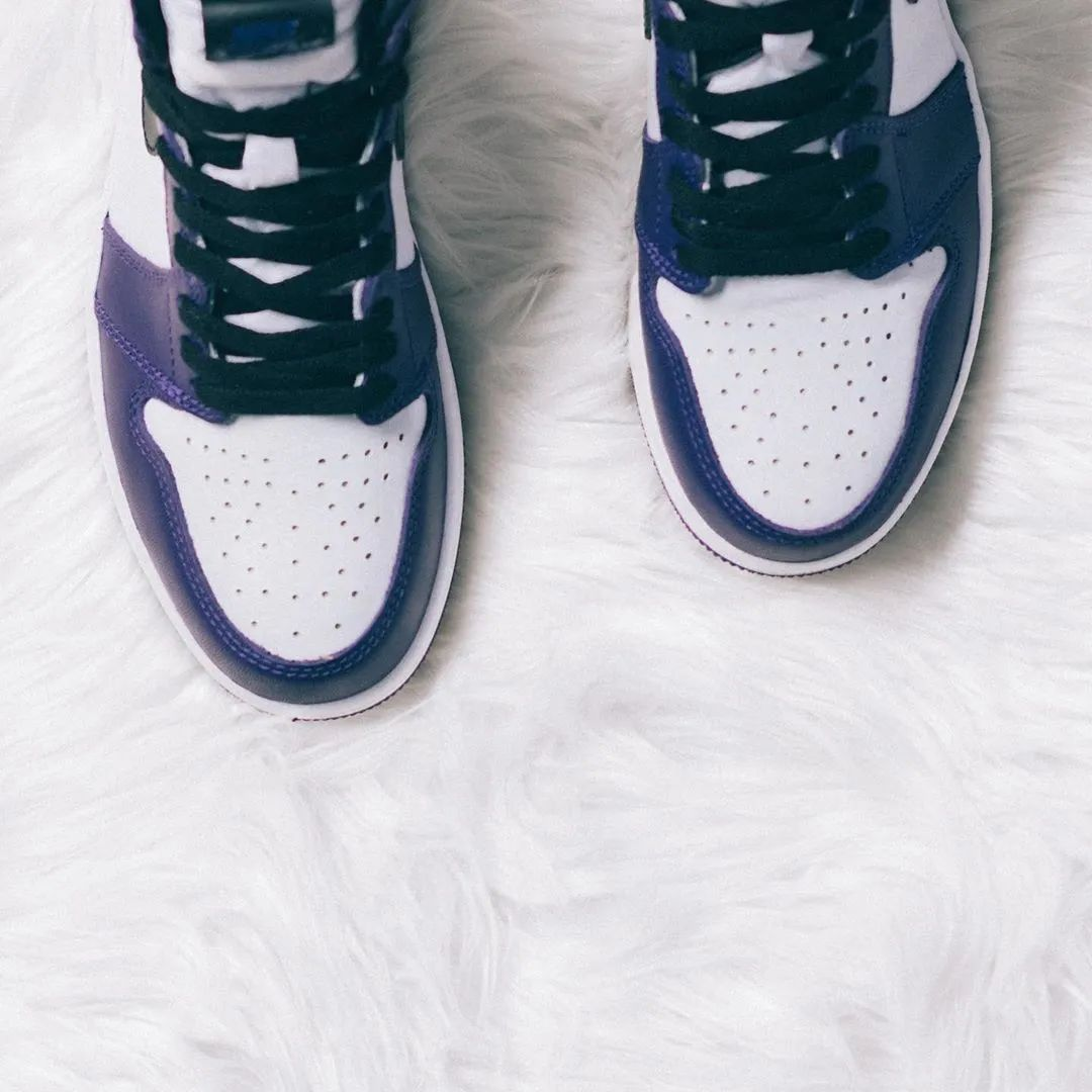 中国原价没抢到?Air Jordan 1紫脚趾开启新一轮限量发售!