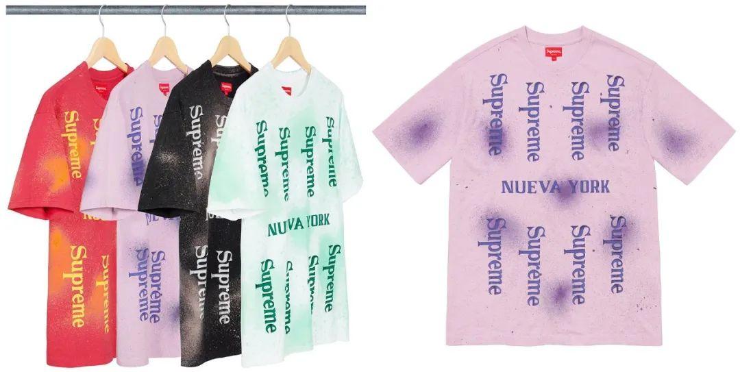 Supreme联名猛男冲锋衣/慈善Tee/美金卫衣,明日限量发售!