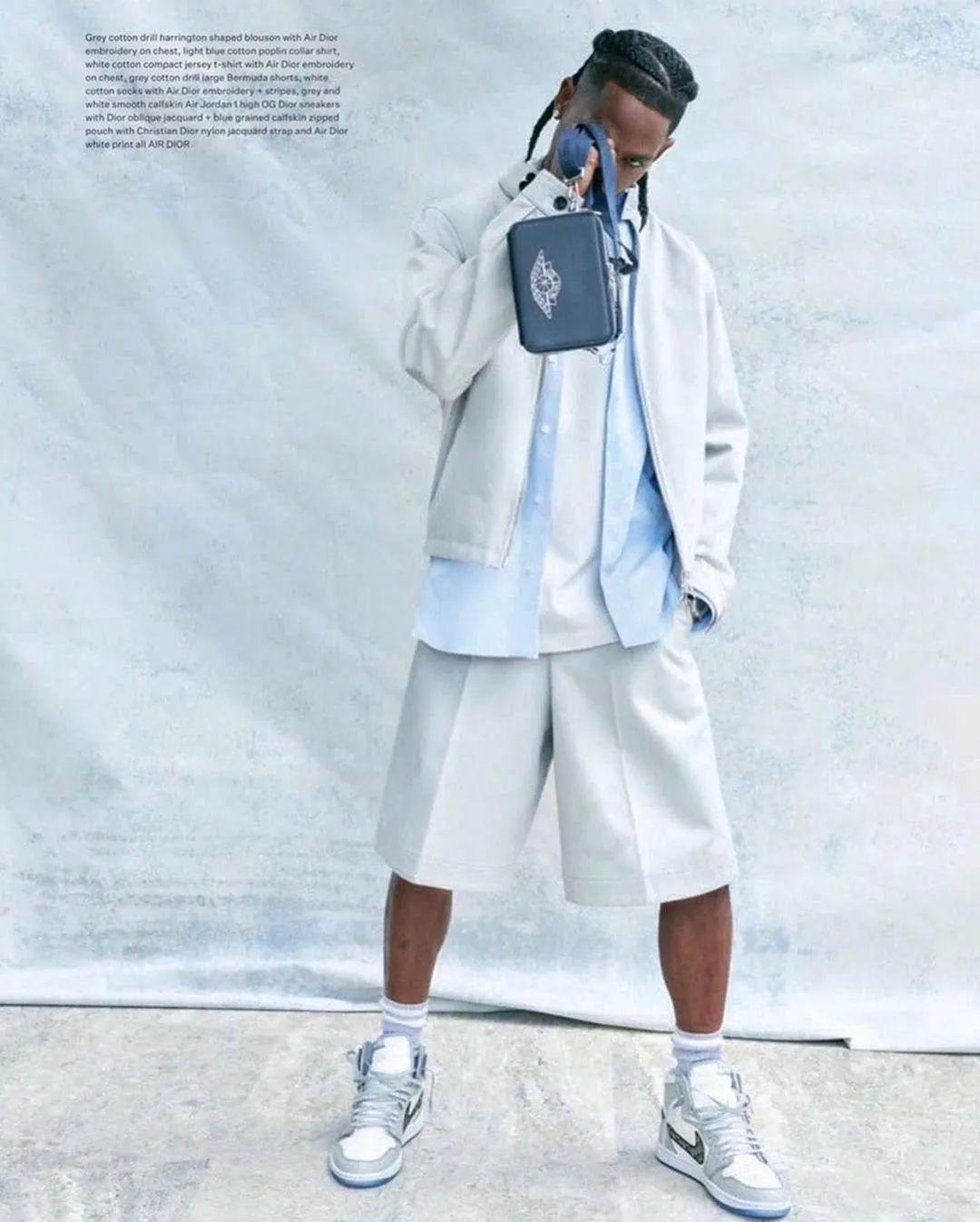 TS/王俊凯之后,Roddy Ricch上脚Dior x AJ1联名,要发售嘛?