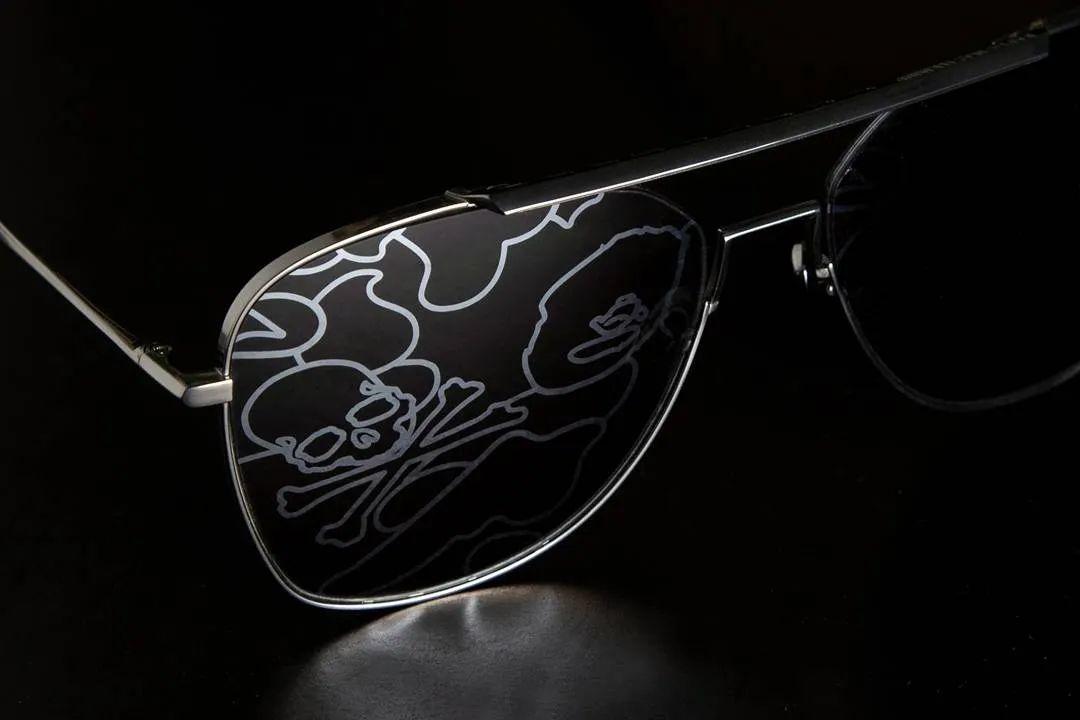 骚:Bape x MMJ骷髅联名眼镜系列曝光,本周限量发售!
