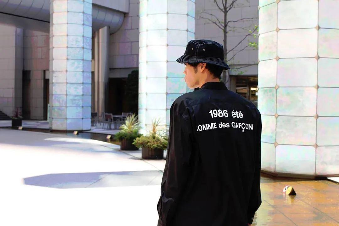 川久保玲CDG平价支线新款Logo上衣曝光,即将限量发售!