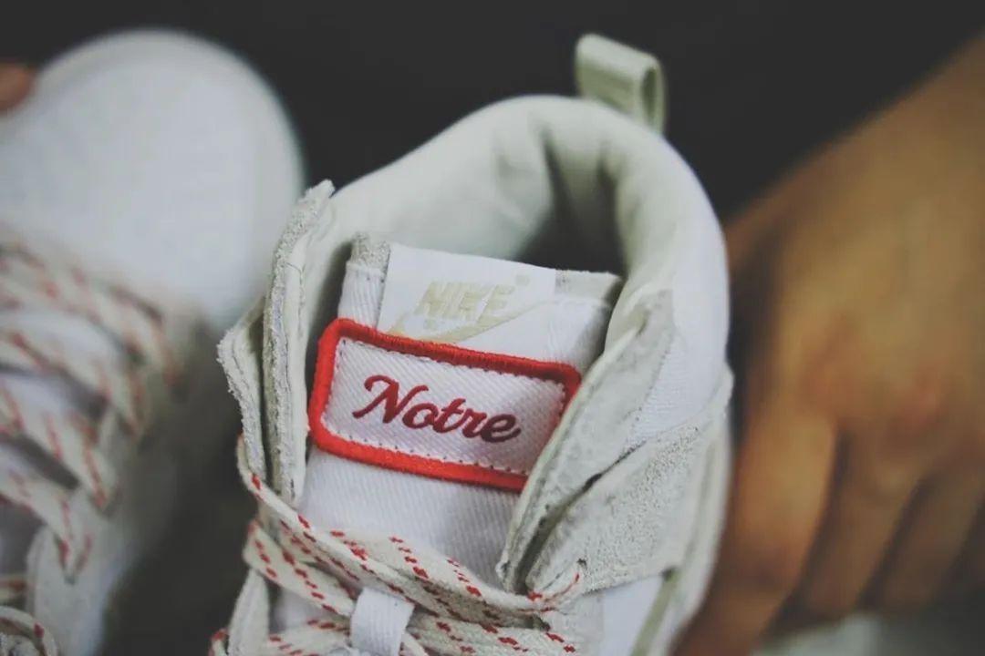 又来了!耐克Dunk x Notre联名实物完全泄露,确认限量发售!