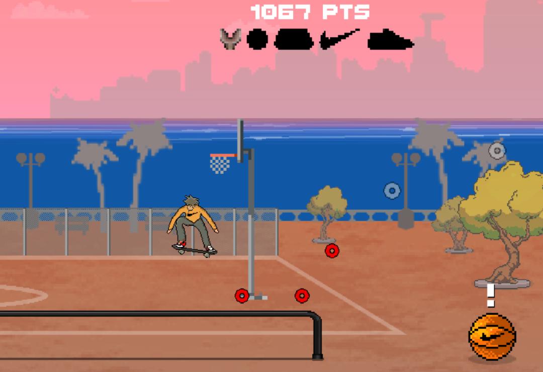 离谱!迪拜土豪店为了发售耐克SB联名,专门开发了个游戏...