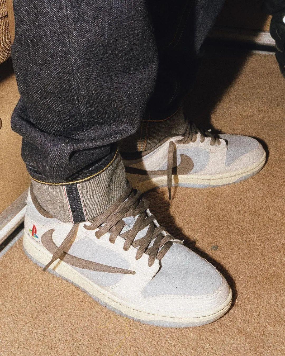 限量5双?Travis Scott带节奏发售耐克Dunk倒勾,为了炒鞋?