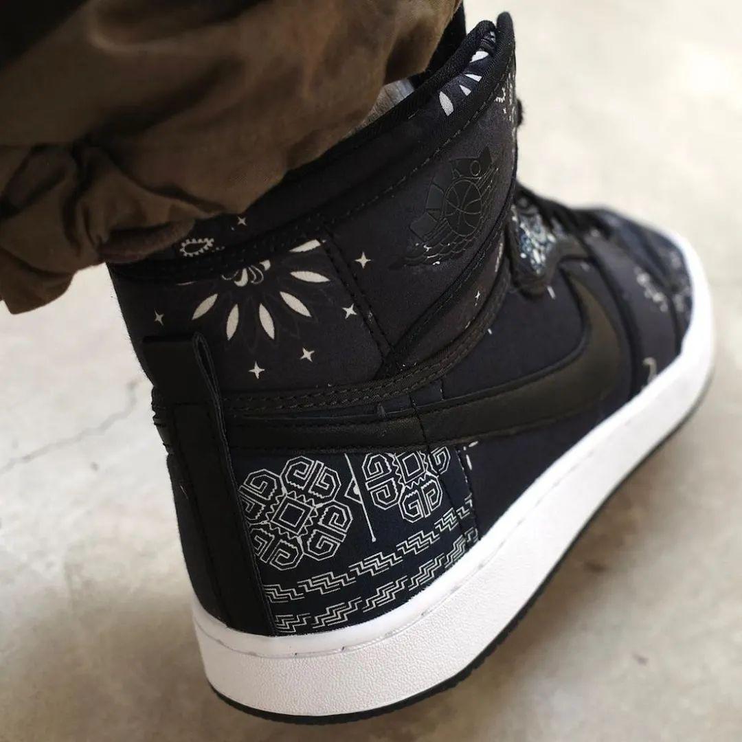 """侵权被销毁?Air Jordan 1""""黑腰果花""""还没发售就要绝版了???"""