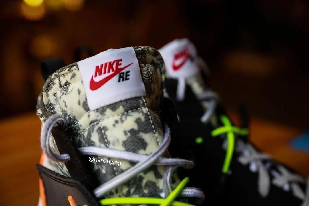 Blazer年?战损鞋盒?耐克 x RM联名写轮眼上脚,发售确认!