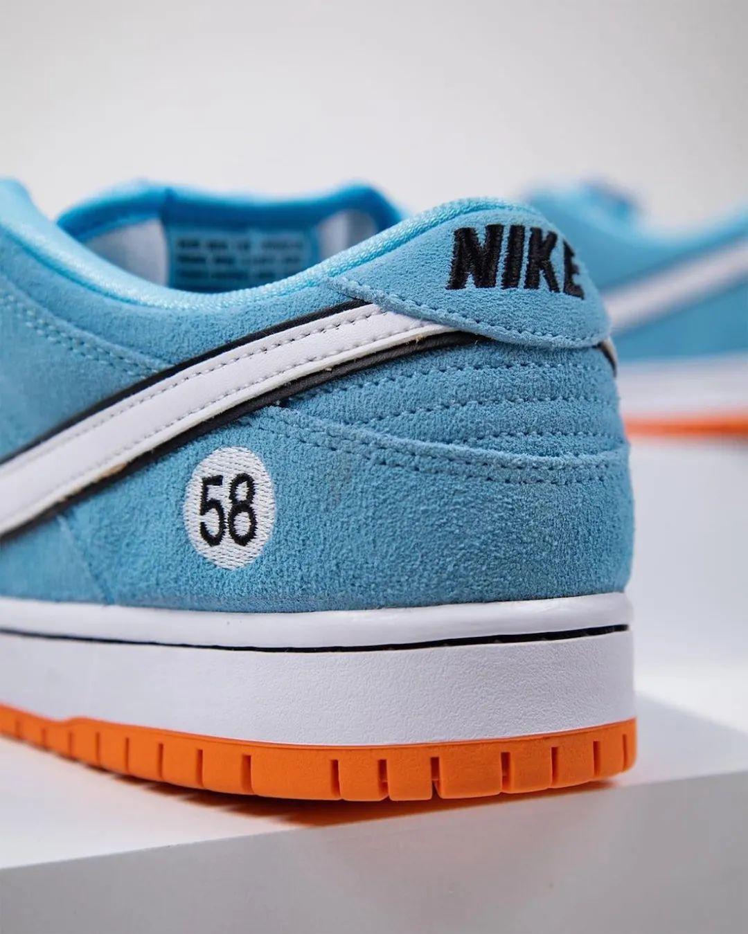 保时捷后,耐克SB赛车涂装灵感鞋款无码图曝光,确认发售!