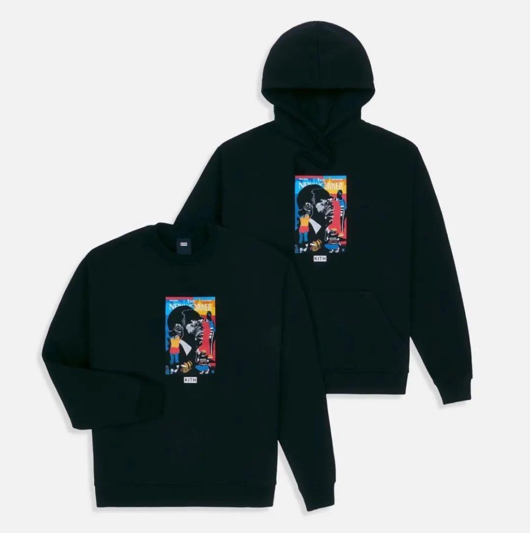 Kith限定马丁路德金Box Logo联名系列曝光,今晚限量发售!