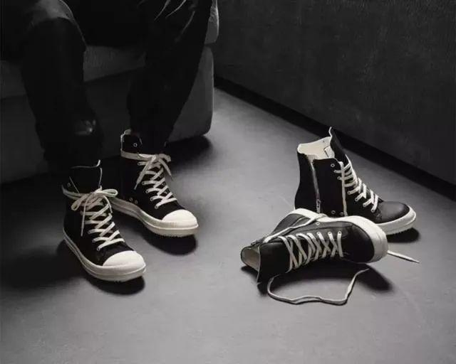 小程序发售!匡威 x Rick Owens联名帆布鞋限量款短信登记!