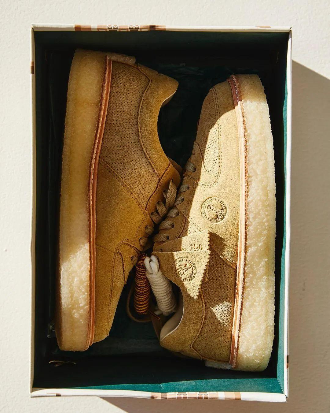 Kith x 李宁?主理人狂晒Clarks新联名鞋款,确认限量发售!