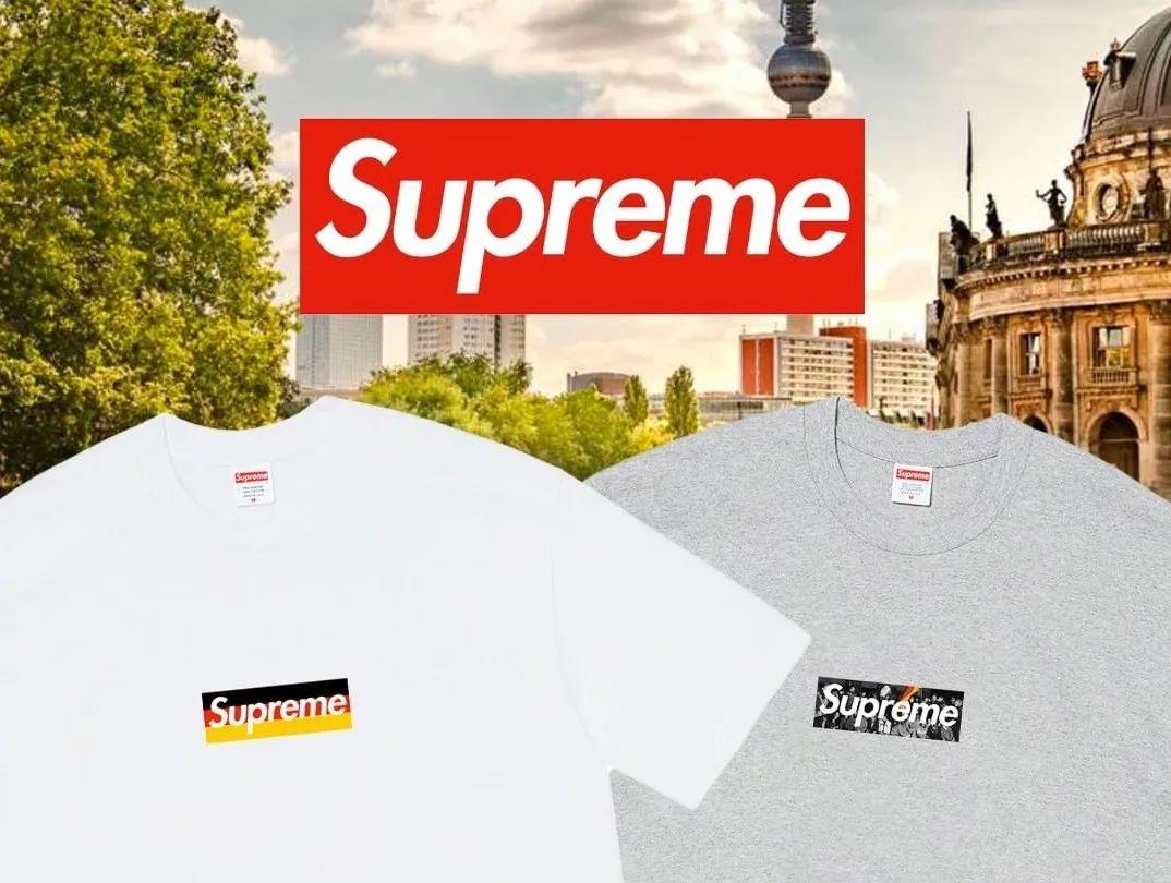 Supreme突袭德国,又要开新店发售Box Logo?官网6折开抢!