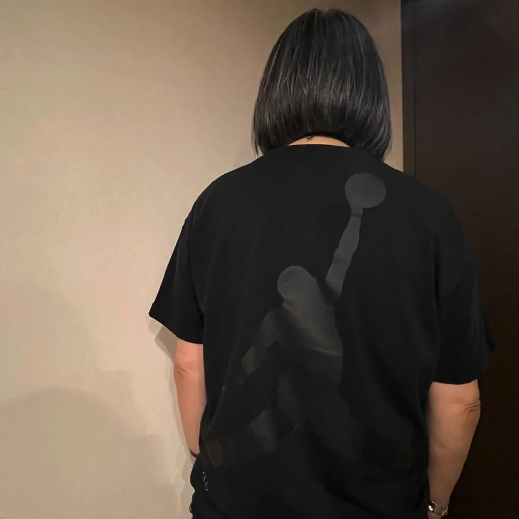藤原浩上身Fragment大闪电 x AJ联名T恤,带节奏?疑将发售!