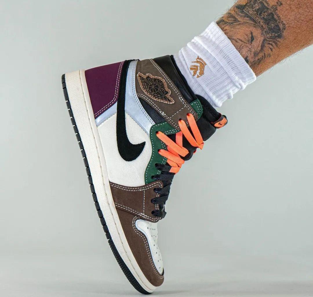 Snkrs确认发售!AJ1缝合怪配色提前上脚鞋款,也会暴涨吗?