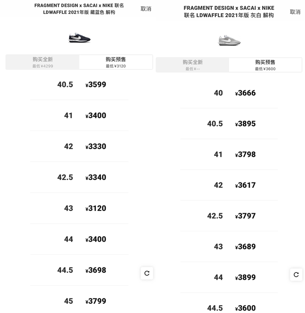 Snkrs突袭了!sacai x 藤原浩 x 耐克三方联名中国全面发售,速冲!