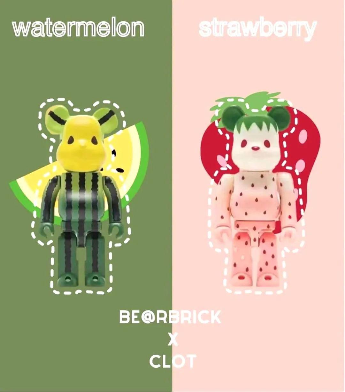 后门货泛滥!陈冠希Clot联名西瓜/草莓熊,贩子预售价超2w!