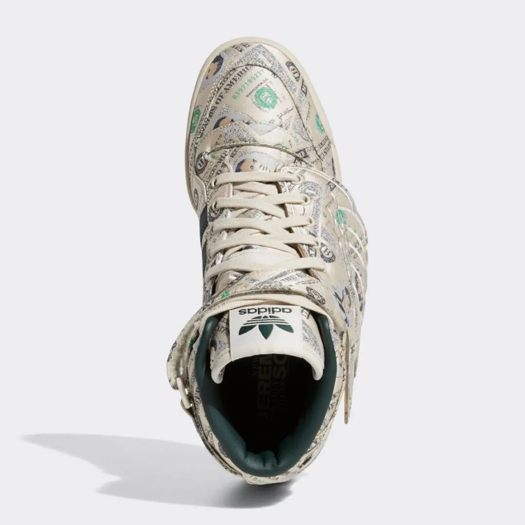 关谷神奇同款!货量2400双美金翅膀联名鞋复刻发售,速锁定!