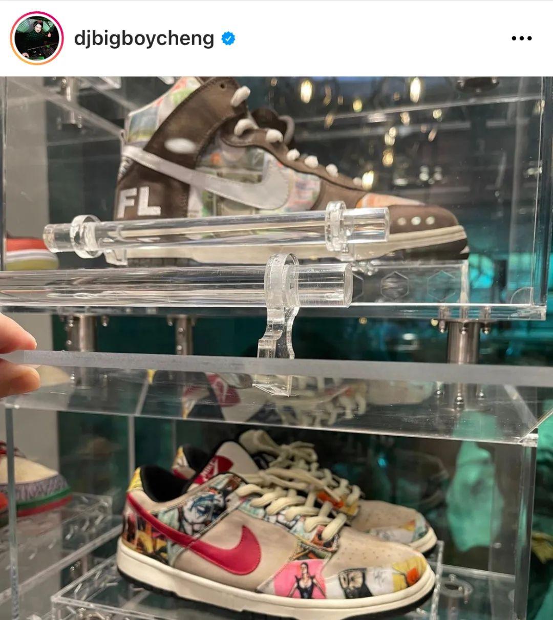 富可敌国!菲律宾富二代拿下50双Off-White x 耐克Dunk,他的球鞋用金库放···